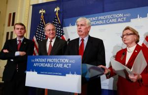 Dem Senators Discuss Medicare Protection Amendment f SY1S05xxwx jpg