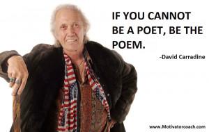 David Carradine Quotes