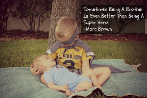 aidan loves being a big brother he s a great helper when it comes it ...