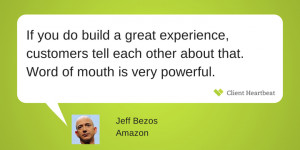 jeff bezos customer satisfaction quotes