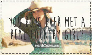 Cute Country Girl Quotes