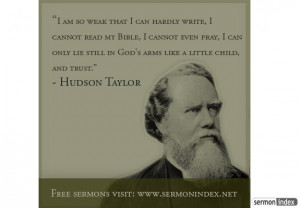 Hudson Taylor Quote