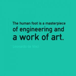 Engineering quotes - Leonardo da Vinci