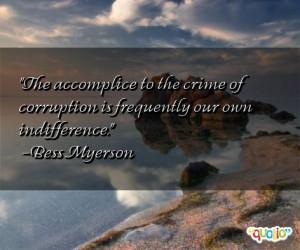 Corruption Quotes