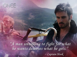 Captain Hook... More men need to remember this