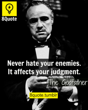 the Godfather words of wisdom - 8quote