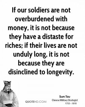 ... not unduly long, it is not because they are disinclined to longevity