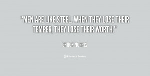 These are the men are like steel funny quote quotez Pictures