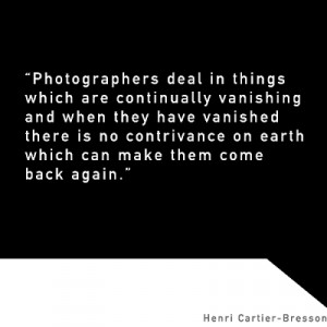Spring Cartier Bresson With...