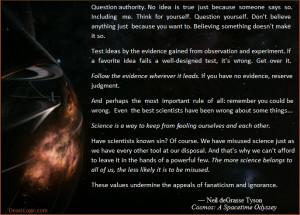 Cosmic Quotations