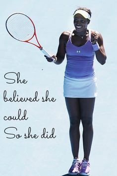 Sloane Stephens proving anything is possible! #tennis #ausopen www ...