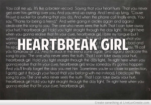 Heartbreak Girl By 5 Seconds Of Summer