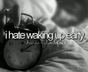 woke up way too early this morning...5:00 am!! O.- (eye twitch)