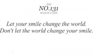 happy, life, quote, smile, tip, true, world