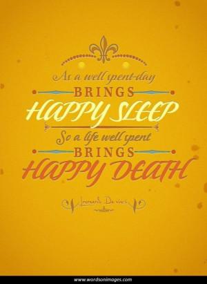 Positive death quotes