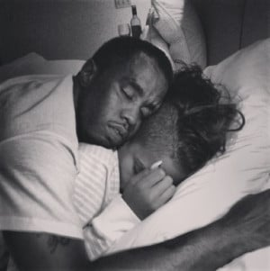 Things You Missed On Instagram Last Night: Diddy And Cassie Cuddle ...