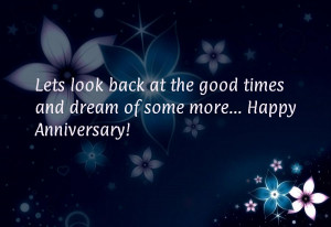 ... back at the good times and dream of some more... Happy Anniversary