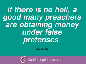 15 Quotes And Sayings From Billy Sunday