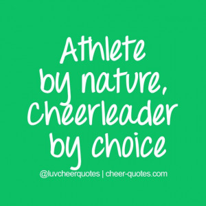 by choice #cheer #cheerleader #luvcheerquotes #cheerleading ...