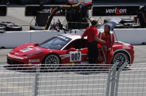 Robert Herjavec Ferrari 458 Challenge 2