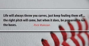 cute baseball quote!