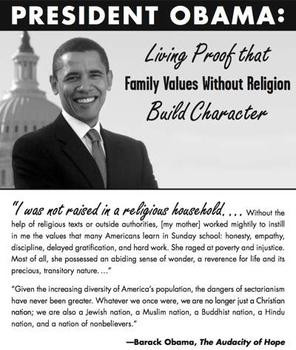Barack Obama, relative to faith, theism, God, Israel, Jesus Christ ...