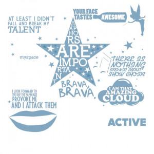 anothergayshark › Portfolio › Rachel Berry Quotes