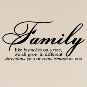 family roots - love this