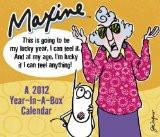 2012 Maxine Year-In -A Box Calendar