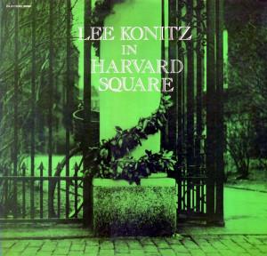 "1954, Lee Konitz, ""Ablution"" from Lee Konitz in Harvard Square ..."