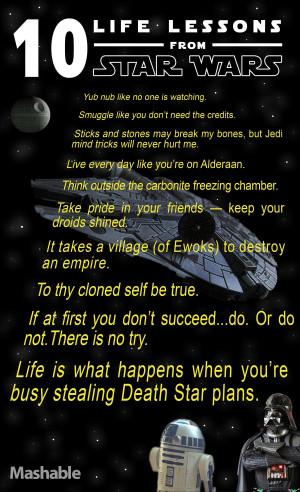10 lecciones de vida que nos dejó Star Wars