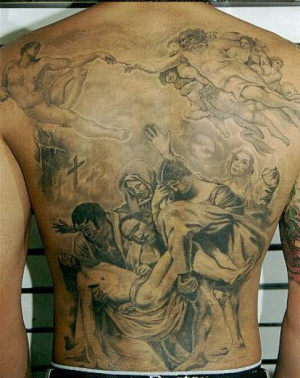 ... ban tattoos? No, says shopping mall church that has cage fighting, too