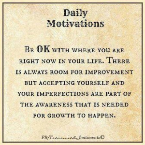 Personal Growth...