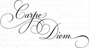 Simply Words | Carpe Diem | Wall Decals