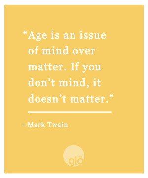 Mark Twain said it so well....