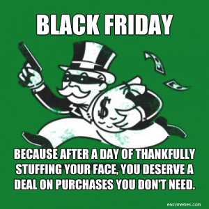 black friday monopoly guy memes