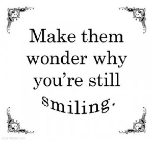 Piccsy :: Make them wonder why you're still smiling.