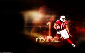 Larry Fitzgerald Wall Credited