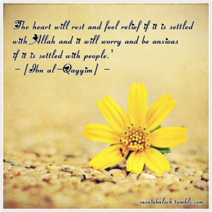 islamic-quotes:Relief of the heart
