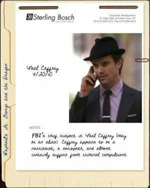 White Collar Neal Caffrey