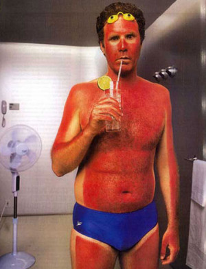 Have you ever gotten a really bad sunburn?