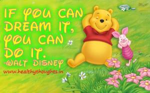 Success Mantra by Walt Disney