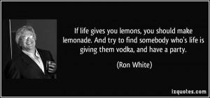 More Ron White Quotes