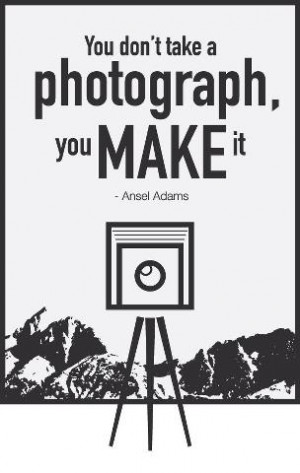 Make a photograph…