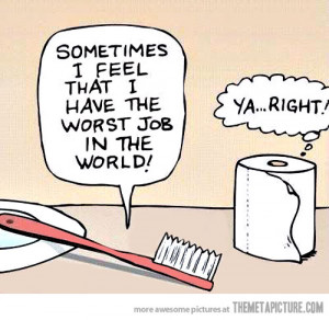 Funny photos funny toothbrush toilet paper