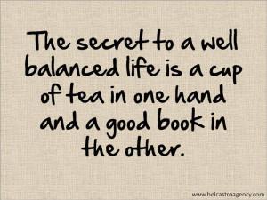 well-balanced life