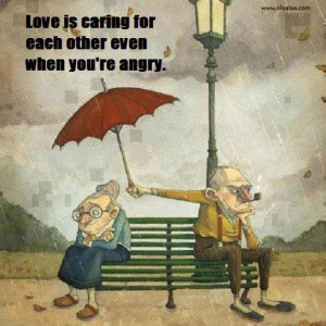 Love Quotes-love is caring for each other..
