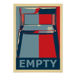 eastwooding the chair funny obama political satire poster ...