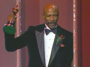 Louis Gossett, Jr. was awarded Best Supporting Actor for (