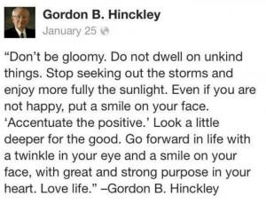 Gordon B. Hinckley :-)